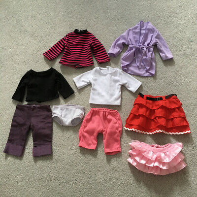 """18"""" Doll Clothes Lot (Fits American Girl)"""