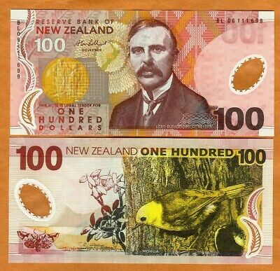 New Zealand, $100, 2006, Polymer, P-189b, Redesigned, UNC