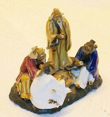 Collectible-Chinese Mud-men-Group of Four