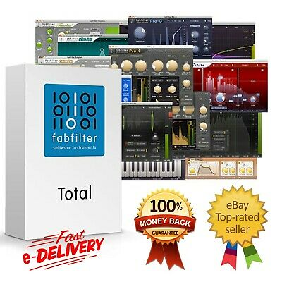 FabFilter Total Bundle VST 2019 For Windows and Mac ✅Full Version ✅Fast eDeliver
