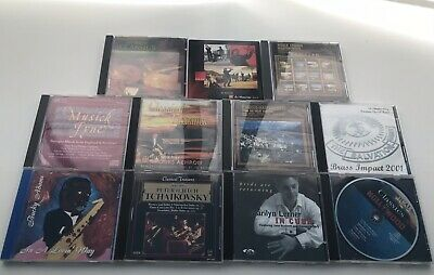 Huge Lot Of 11 Jazz And Classical Cds Various Artists