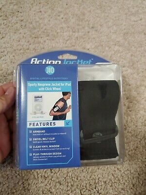 Action Jacket Sporty Neoprene Jacket For Ipod New