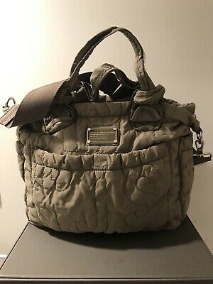 Marc Jacobs Taupe Beige Diaper Bag