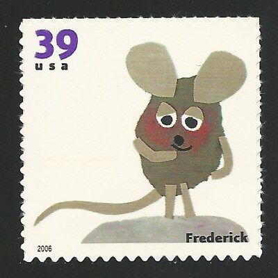 Frederick the Mouse Leo Lionni Children's Book Animal US Stamp MINT CONDITION !