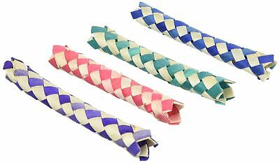 Lot of 12 Bambo Chinese Finger Traps