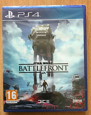 Jeu Video Pour Playstation 4  Ps 4 Ps4 Neuf Star Wars Battlefront