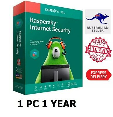 KASPERSKY INTERNET SECURITY 2020 1 PC DEVICE 1 YEAR (Email Delivery in 16 hours)