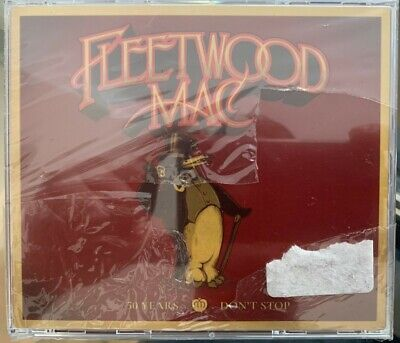 Fleetwood Mac - 50 Years - Don't Stop Cd :New & Sealed Shrink Wrap Slightly Torn