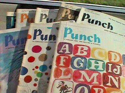 Punch Magazine - 8 Issues from 1965
