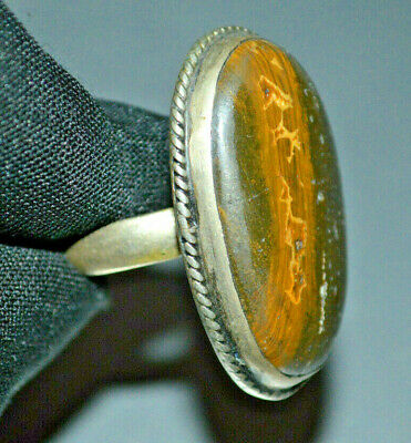 Special item style Ancient roman Ring beautiful look handmade art silver color