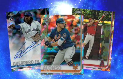 2019 Topps Chrome Sapphire Edition Baseball Live Random Player 1 Box Break #7