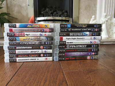PS3 Games Multi Listing - Select Your Game