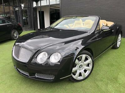 2007 Bentley Continental 6.0 GTC 2d 550 BHP Auto Convertible Petrol Automatic