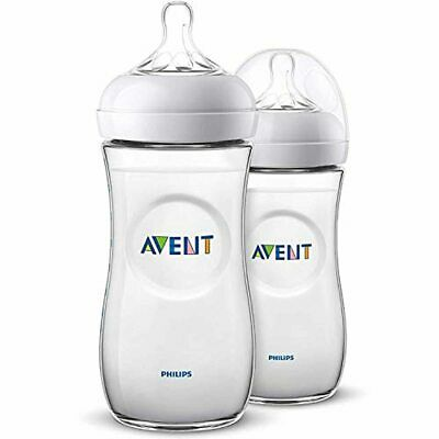 Philips Avent Natural Baby Bottle for 6m+ Babies with Fast Flow Teat, BPA Free