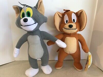 "Tom & Jerry Plush by Toy Factory New With Tags 10-11"" Tall"