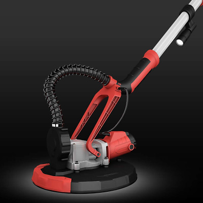 Adjustable Electric Drywall Sander with Vacuum and LED Light Sanding New Home