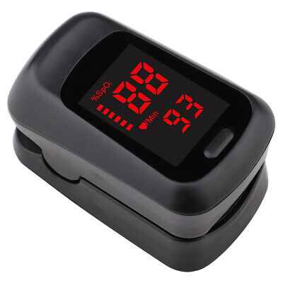 Finger Tip Pulse Oximeter Blood Oxygen Meter SpO2 O2 Heart Rate Monitor Detector