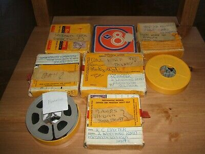 8 X Old 8Mm Home Films Mixed 1960'S