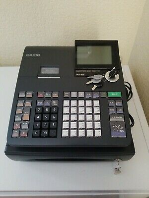 Casio PCR-T500 Electronic Cash Register - Black  New without box