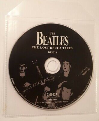 The Beatles - The Lost Decca Tapes (Cd, Disc Only) Brand new not sealed.