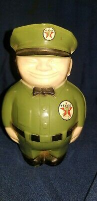 Vintage Original 1950'S Texaco Fatman Coin Bank