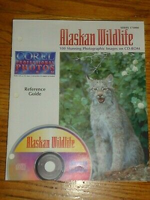 COREL Professional CD ROYALTY FREE Photos, Alaskan Wildlife,100 Stunning