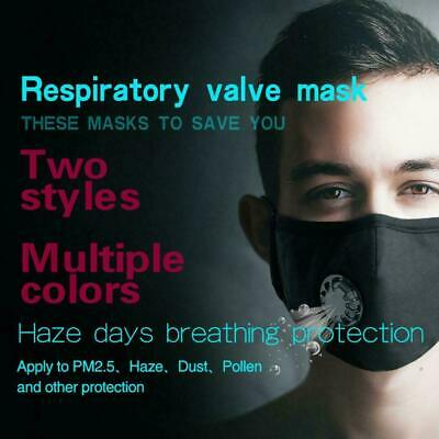 Air Purifying Mask carbon Filter Cotton Mouth Respirator Muffle Anti Haze Fog