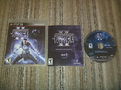 Star Wars The Force Unleashed II (2010) Sony Playstation 3 PS3 Complete Game