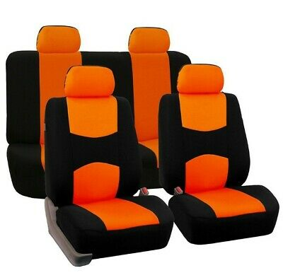 9Pc Auto Seat Covers For Car Universal Protectors Front Row Back Row General