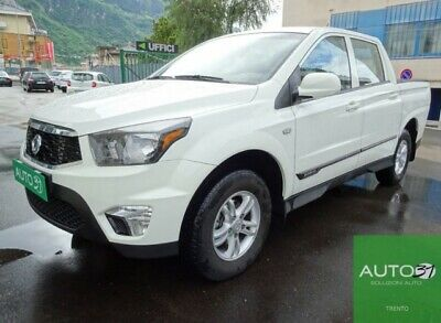 Ssangyong actyon sports 2.2 plus 4wd - uniproprietario