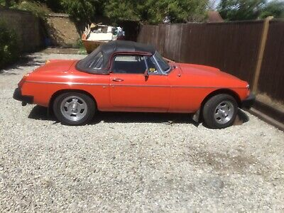 MGB convertible 1979 great solid car