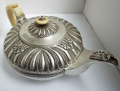 Stunning Large Heavy English Antique Georgian 1816 Solid Sterling Silver Teapot