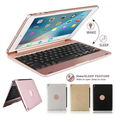 "Folio Bluetooth Keyboard Smart Case Stand Cover For iPad 9.7"" AIR2 5th/6th Gen"