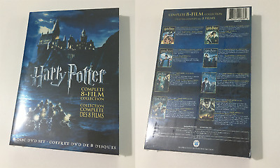 Harry Potter : The Complete 8-Film Collection (DVD, 2011, 8-Disc Box Set) Gift