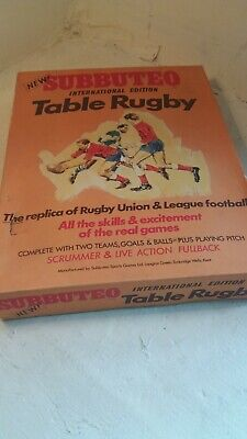 Subbuteo Table Rugby   , ref 3
