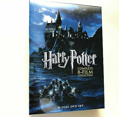 Harry Potter: Complete 8-Film Collection (DVD, 2011, 8-Disc Set) FAST SHIPPING
