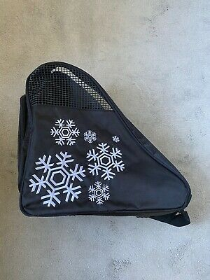 Black Ice Skating Case with strap and handles