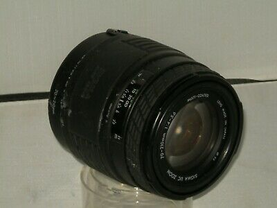 SIGMA UC 70 - 210mm f4  Vintage Multi Coated Zoom Lens Canon Mount