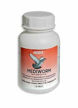 Pigeon Product - MediWorm by MedPet - for Racing Pigeons - FREE SHIPPING