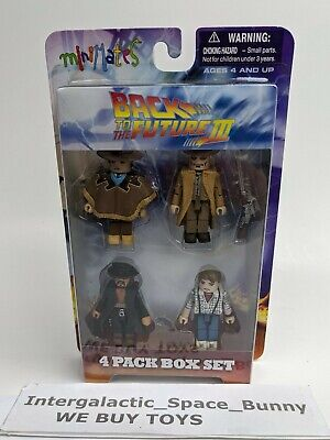 Back To The Future III 3 Película Minimates Detention Marty Mcfly 4-Pack Sellado