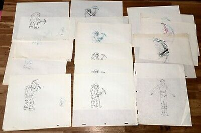 Star Trek: The Animated Series (1973-1974) Filmation Orig. Prod. Drawings Lot!