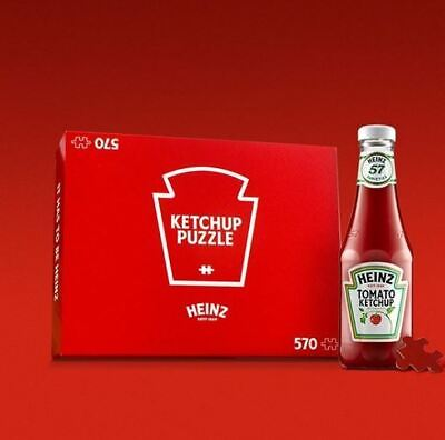 Heinz Ketchup Puzzle Limited Edition Confirmed Order