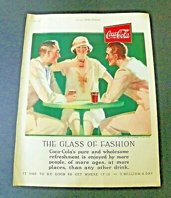 1926 Wm Rogers Mayfair Silverplate Coca Cola Color Ads