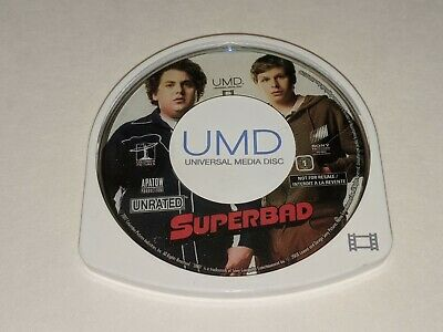 SUPERBAD Unrated Edition Sony Playstation Portable PSP UMD Movie Seth Rogen