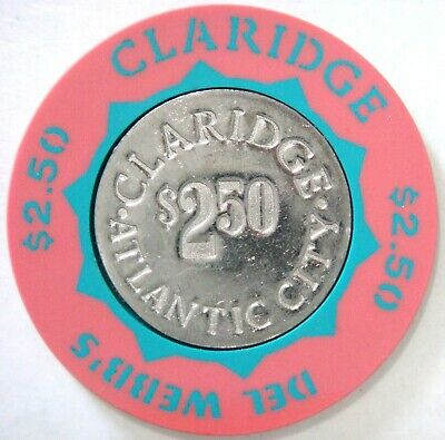 Del Webb's Claridge $2.50 (Atlantic City)