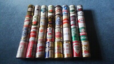 Lot of 32 Vintage Beer Cans Pop Top Pull Tab Gluek Stoney's Holiday Walter LOT42