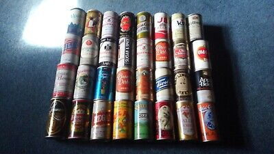 Lot of 32 Vintage Beer Cans Pop Top Pull Tab Tivoli Gablinger Valley Forge LOT48