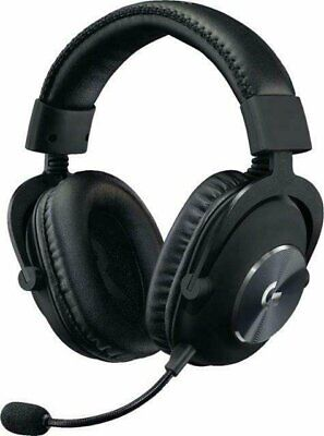 Logitech G PRO Wired Stereo Gaming Headset for Windows - Black *Brand New Sealed