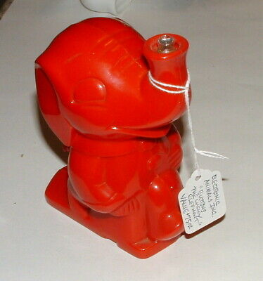 1950s ELECTRONIC ANIMALS BUTTONS THE LUCKY ELEPHANT FIGURAL LANTERN LIGHT