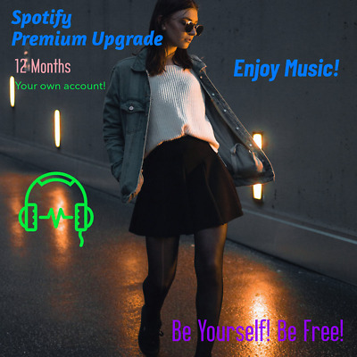 Spotify Premium Upgrade | 12 Months |  LIFETIME warranty |